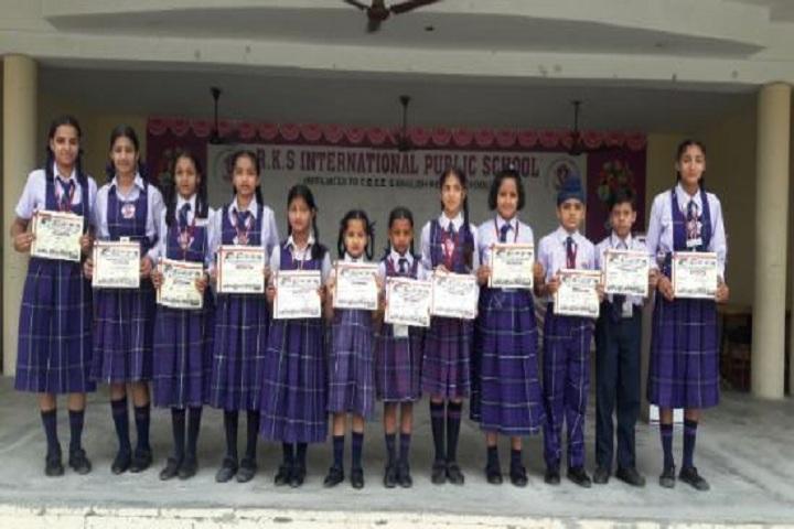 R K S International Public School-Medal Distribution