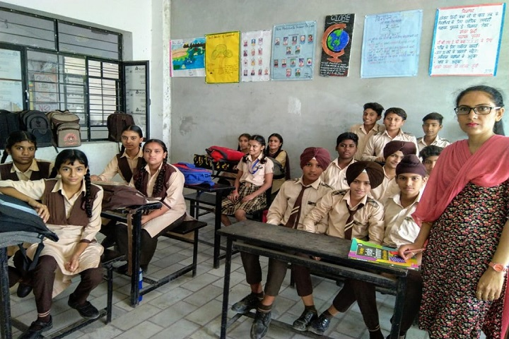 R P International Senior Secondary School-Class