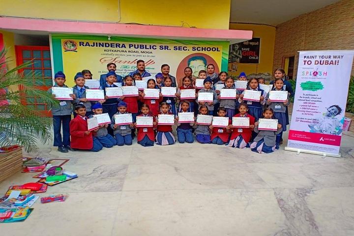 Rajindera Public Senior Secondary School-Certificates Distribution