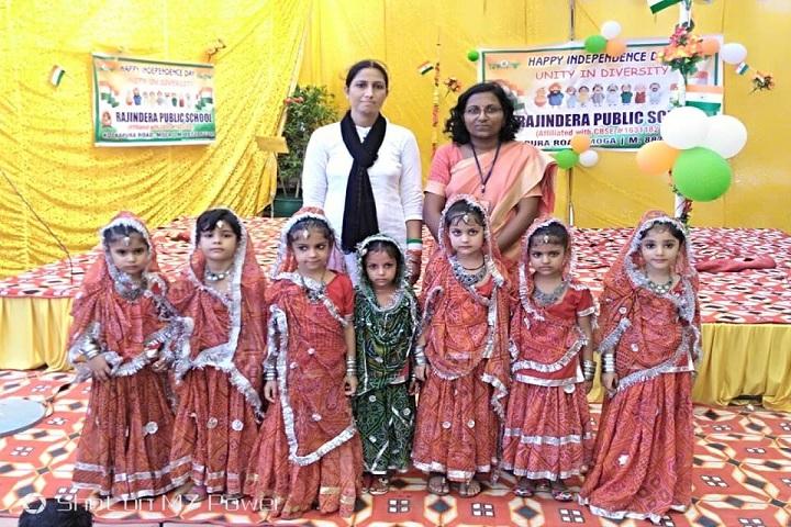 Rajindera Public Senior Secondary School-Independence Day Celebrations