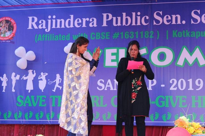 Rajindera Public Senior Secondary School-Save a Girl Child Program