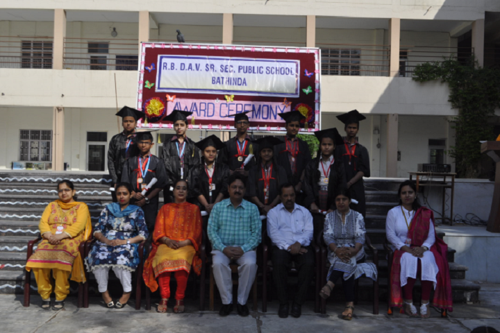 Ramjidas Bhagwandas Dav Senior Secondary Public School-Award Ceremony