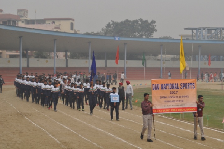 Ramjidas Bhagwandas Dav Senior Secondary Public School-DAV National sports