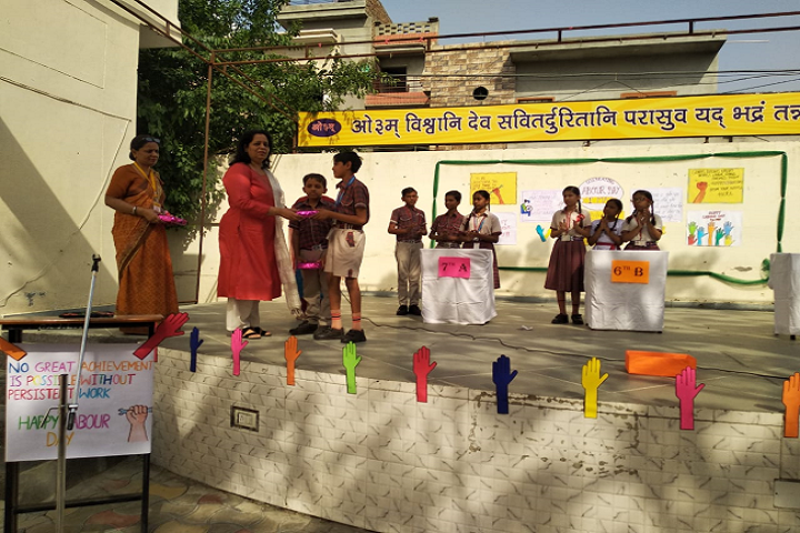 Ramjidas Bhagwandas Dav Senior Secondary Public School-Labour Day Celebrations