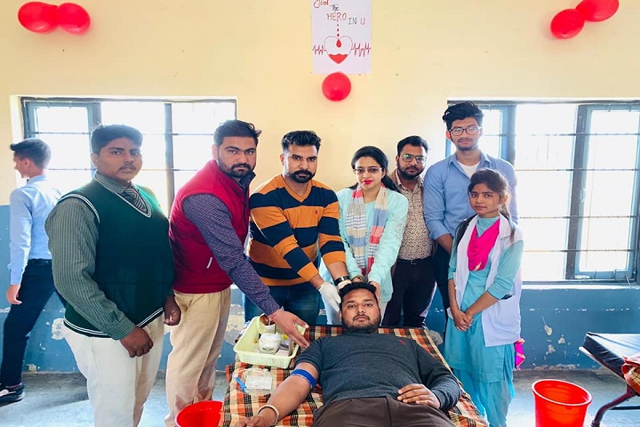 Rishi Model School-Blood Donation