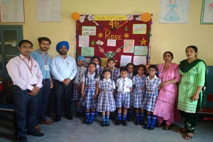 Rishi Model School-Students