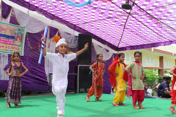 Rishi Model School-Dance
