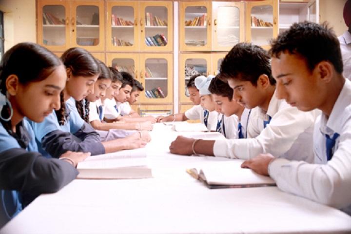 Rishi Model School-Library