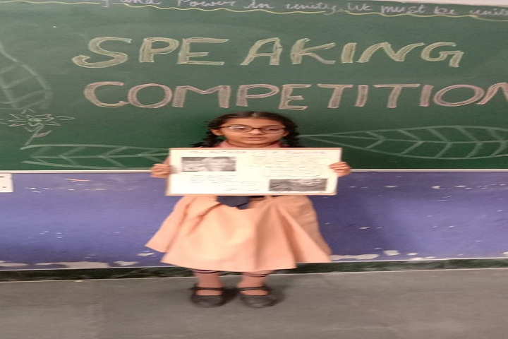 Ryan International School-Speaking Compitition