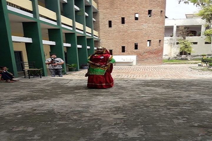 S D Model Senior Secondary School-Dance