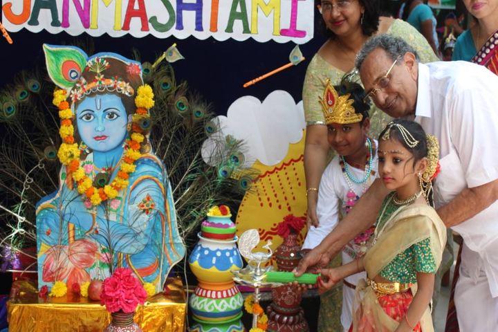 Apple I English Medium School-Krishnastami Celebrations