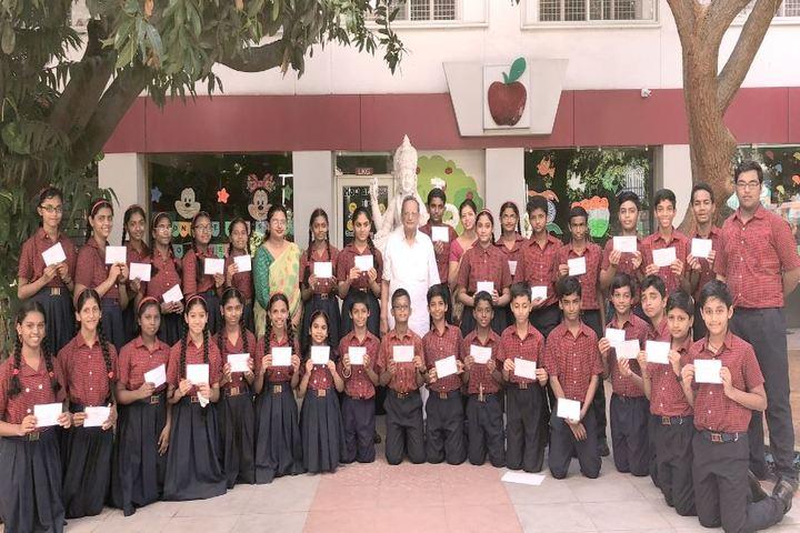 Apple I English Medium School-Students