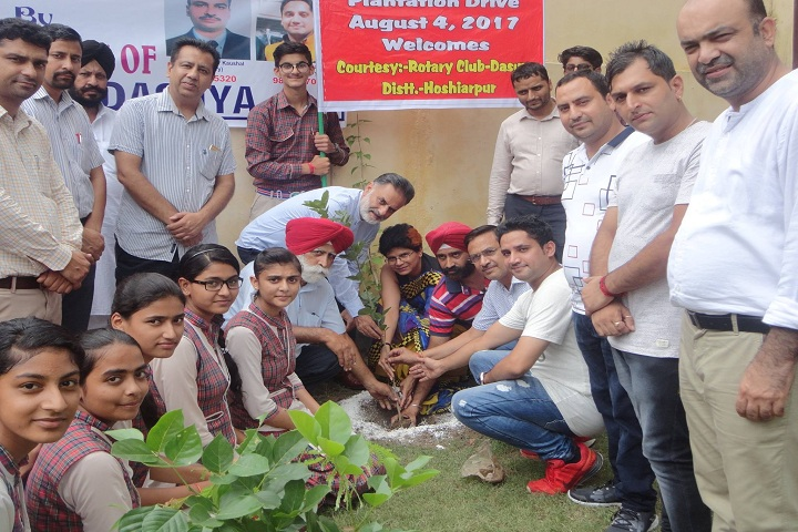 SVJC DAV Public School-Plant a Tree Programe