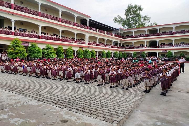 SVJC DAV Public School-Assembly