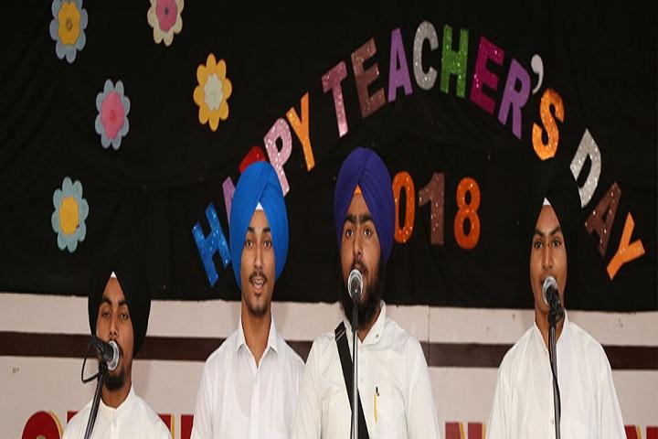 S Harbans Singh International Public School-Teachers Day Celebration