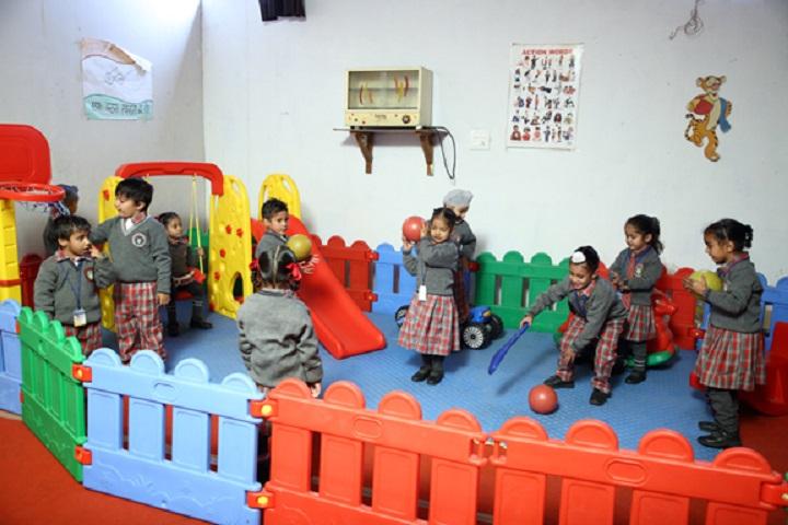 S Sukhjinder Singh Memorial Public School-Nursery Students Activity