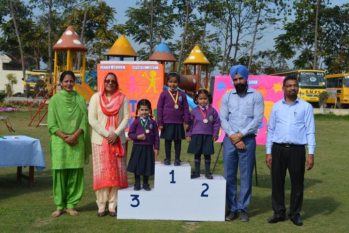 S Sukhjinder Singh Memorial Public School-Sports Winner