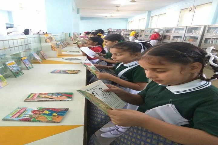 Sacred Heart Senior Secondary School-Library