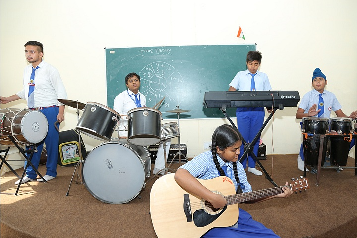 Sacred Heart Senior Secondary School-Music Room