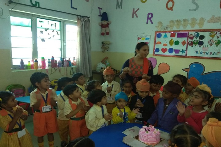 Saffron City School-Birth Day Celebrations