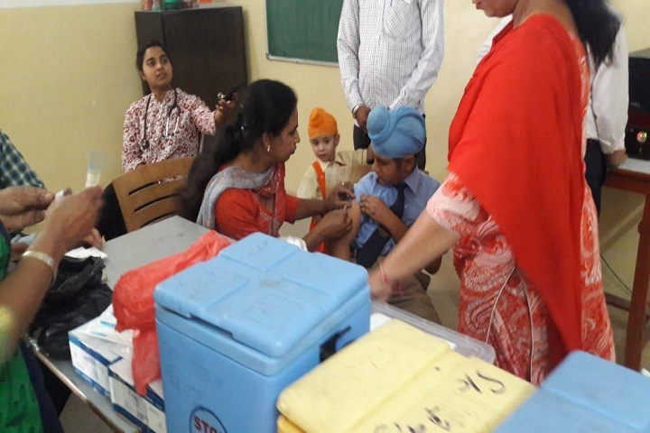 Saffron City School-Medical Check Up
