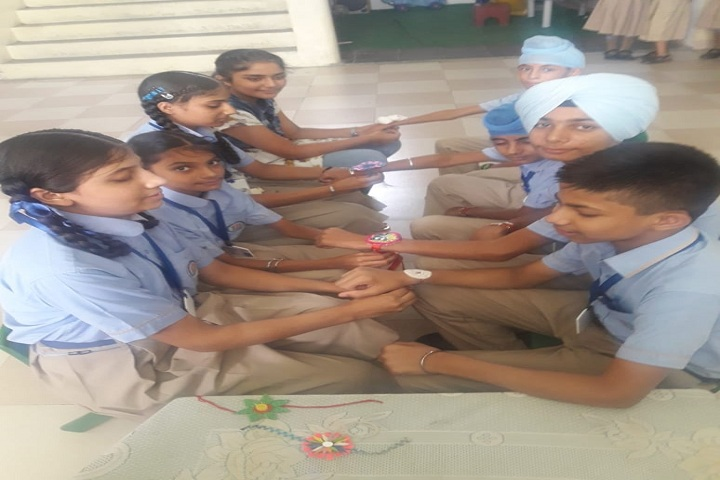 Saffron City School-Rakhi Celebrations
