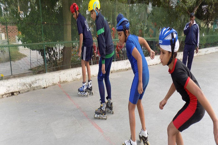 Saffron City School-Skating