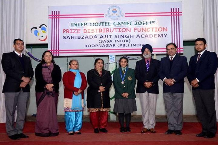 Sahibzada Ajit Singh Academy-Prize Distribution