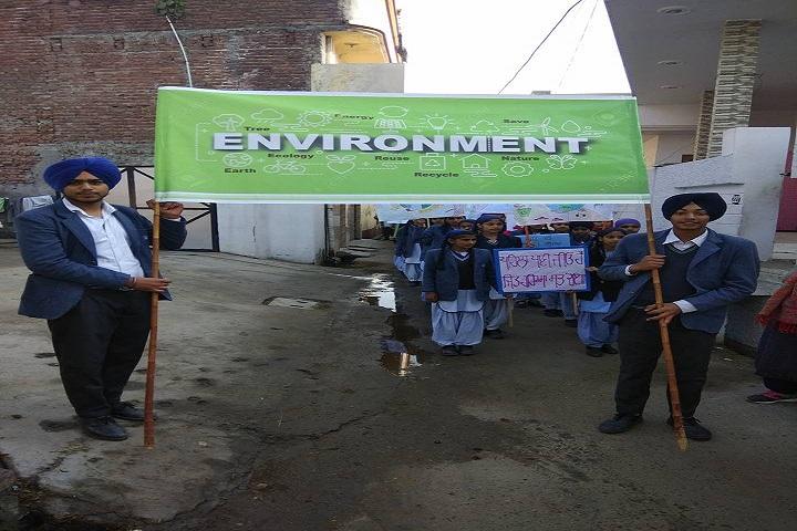 Sahibzada Zorawar Singh Public School-Environment Rally