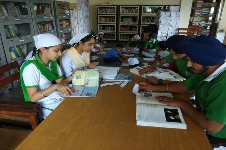 Sahibzada Zorawar Singh Public School-Library