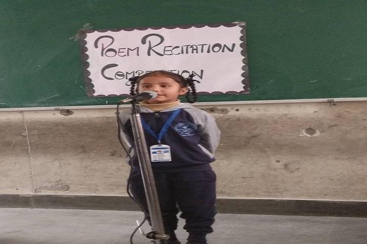 Sahibzada Zorawar Singh Public School-Recitation Program
