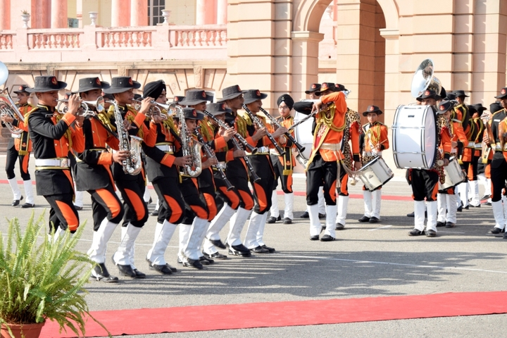 Sainik School-Band Troop