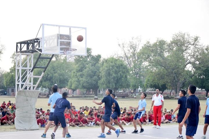 Sainik School-Basketball Court