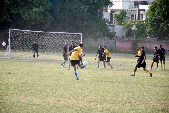 Sainik School-Football Ground