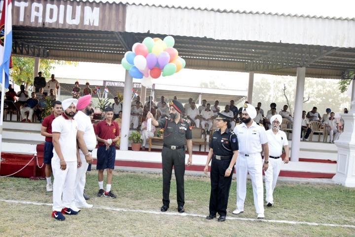 Sainik School-Sports Day