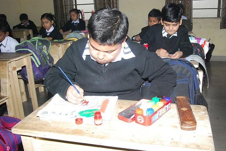 Saint Bir Santosh Public School-Art Compitition