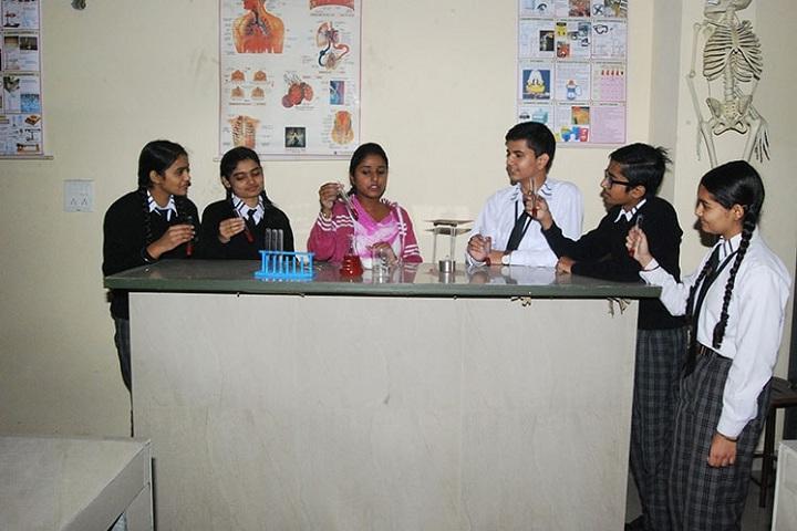 Saint Bir Santosh Public School-Biology Lab