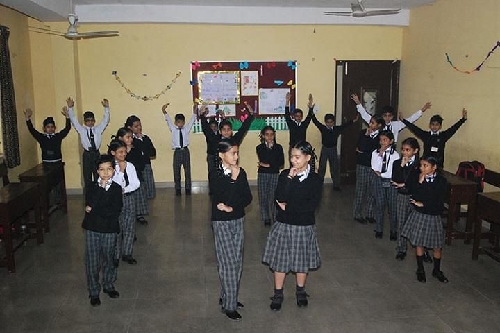 Saint Bir Santosh Public School-Dance