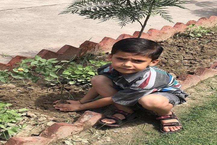 Saint Bir Santosh Public School-Plant a Tree Program