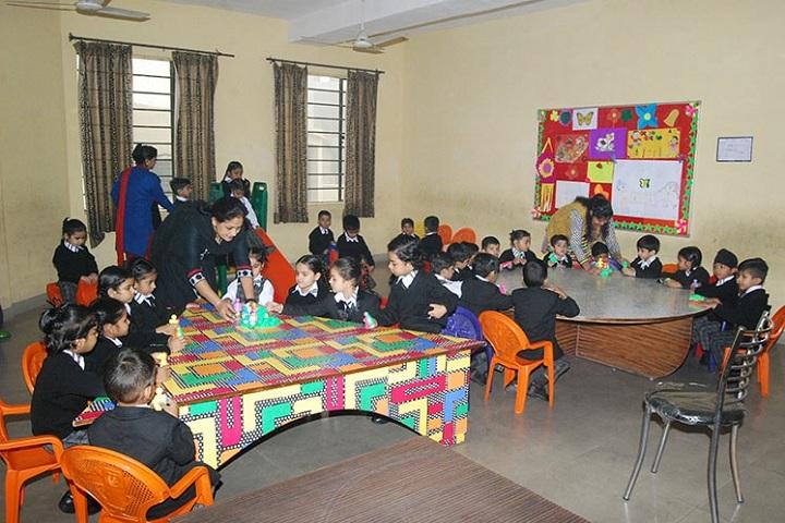 Saint Bir Santosh Public School-Tiny Tot Room