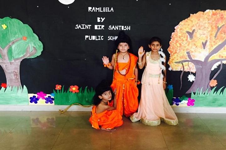 Saint Bir Santosh Public School-Events ramleela