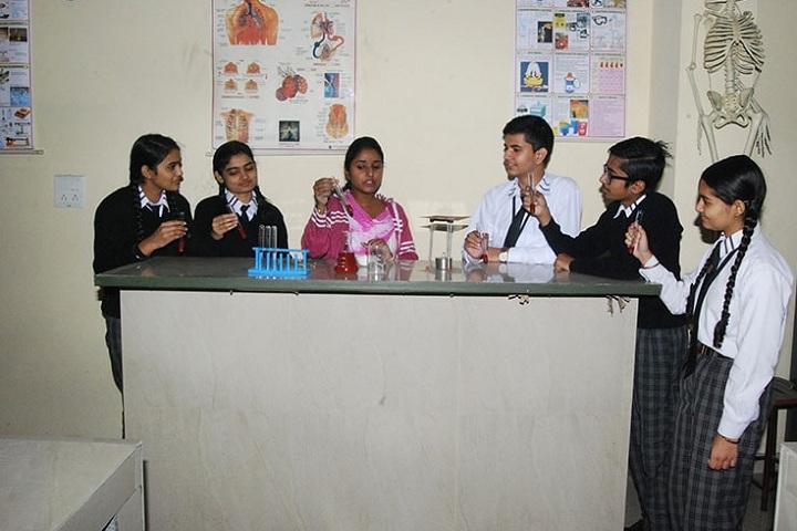Saint Bir Santosh Public School-Laboratory