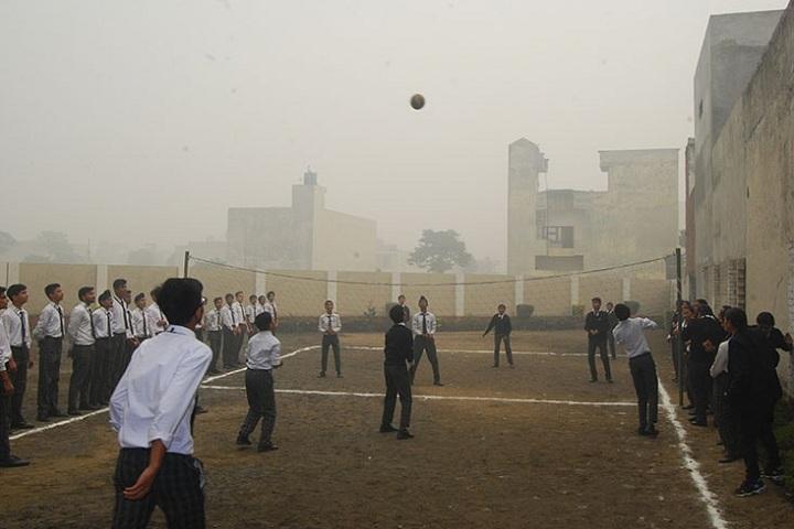Saint Bir Santosh Public School-Sports vollyball