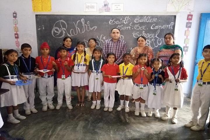 Saint Soldier Convent School-Rakhi Making Compitition