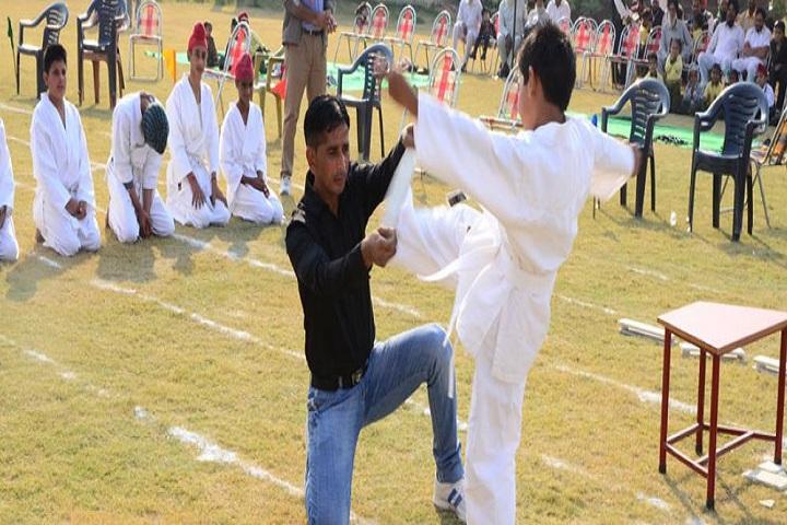 Sampuran Public School-Karate