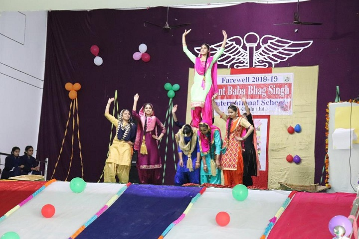 Sant Baba Bhag Singh International School-Farewell