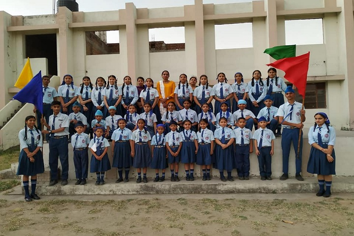 Sant Baba Nidhan Singh Ji Public School-Class Photograph