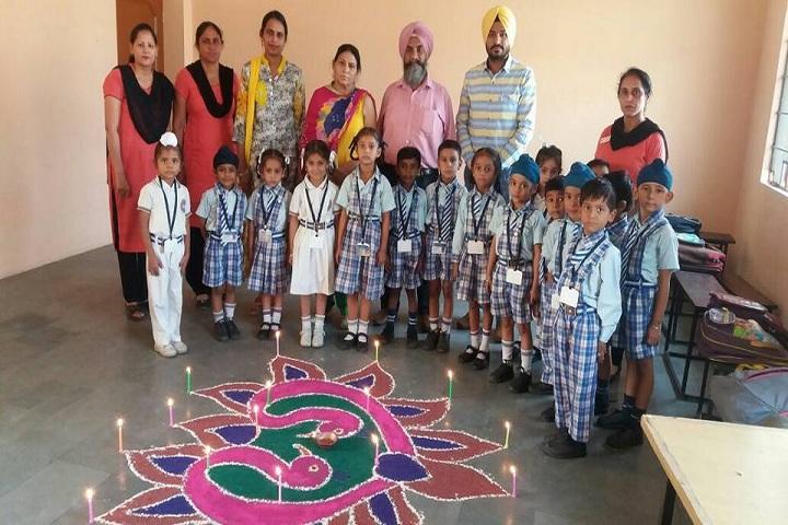Sant Baba Nidhan Singh Ji Public School-Rangoli