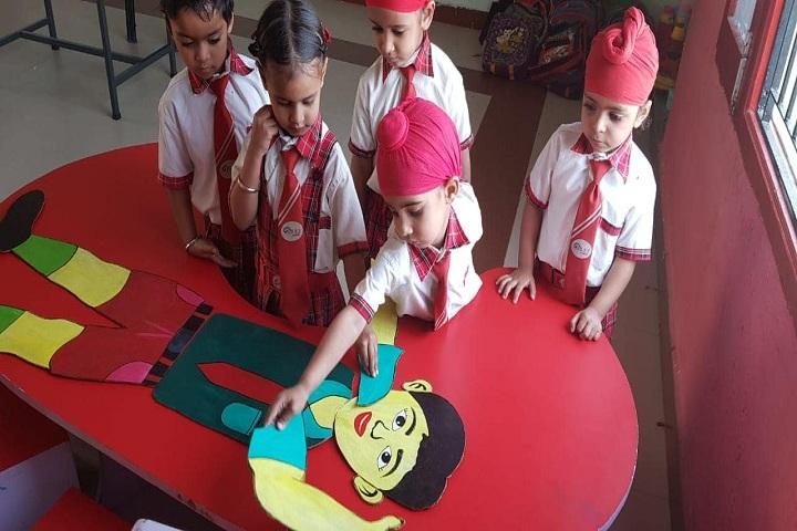 Sant Baba Ranjeet Singh Public Senior Secondary School-Learning through fun