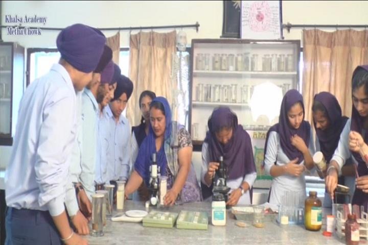 Sant Giani Gurbachan Singh Ji-Biology lab